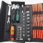 Комплект инструменти Kraftform Kompakt W 1 за поддръжка невороятно качествена комбинация от WERA