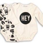 Бебешки дрешки за момче със забавни послания