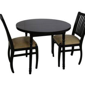 Разтегателна кръгла маса за трапезария