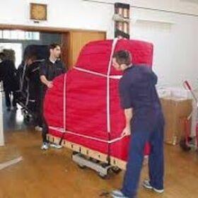 Преместване на пиано и пренасяне на роял от Студенти Хамали